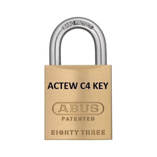 ABUS 83 45 ACTEW KEY