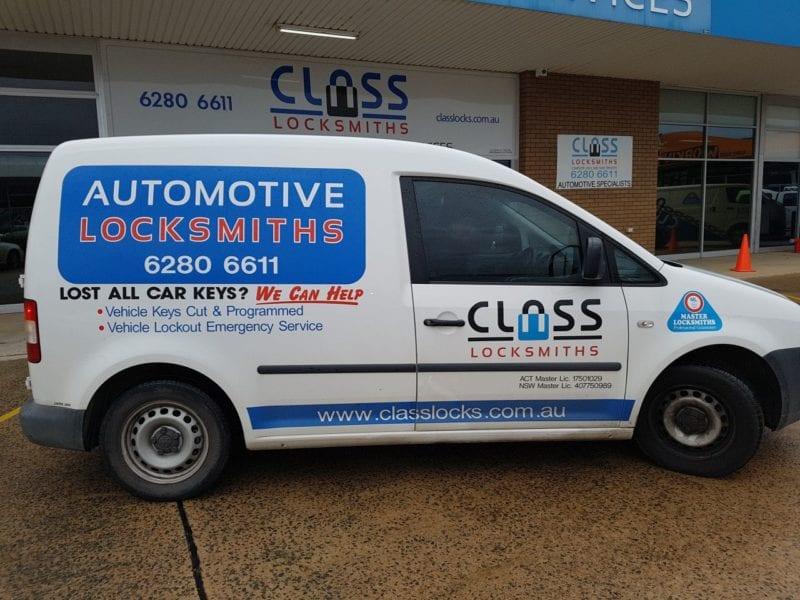 Automotive Locksmith Canberra | CLASS Locksmiths